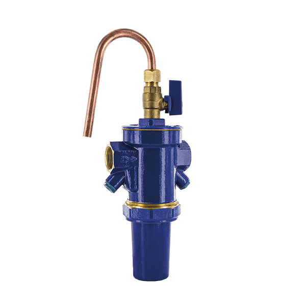 ARION® SELF-CLEANING BRASS STRAINER PN 16 WITH BRASS CUP